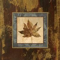 Autumn Leaf Square IV Fine Art Print