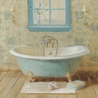 Victorian Bath I Fine Art Print