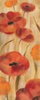 May Floral Panel I Framed Print