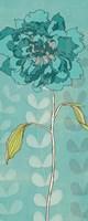 Sarah's Garden II in Blue Fine Art Print