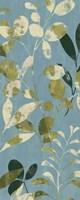Leaves on Blue II by Wild Apple Portfolio - various sizes