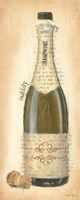 Bubbly Champagne Bottle Fine Art Print