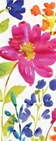 Floral Medley Panel I by Wild Apple Portfolio - various sizes