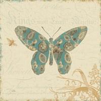 Natures Pattern II in Blue Fine Art Print