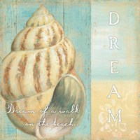 Soft Beach Quote II by Daphne Brissonnet - various sizes