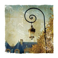 Golden Age of Paris II Fine Art Print