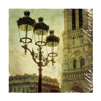 Golden Age of Paris IV Fine Art Print