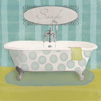 Polka Tub II Fine Art Print
