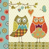 Owl Wonderful I by Lisa Audit - various sizes