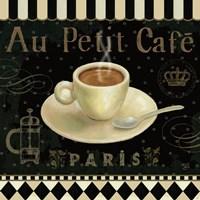 Cafe Parisien II Fine Art Print