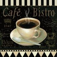 Cafe Parisien IV Framed Print