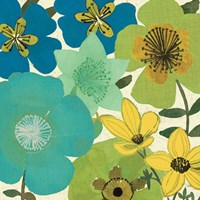 Garden Brights Cool III by Pela Studio - various sizes