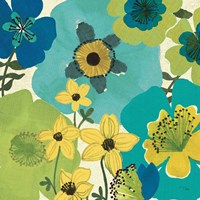 Garden Brights Cool IV by Pela Studio - various sizes