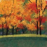 Bright Autumn Day I Fine Art Print