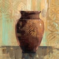 Glazed Pot II Decorative Accents by Silvia Vassileva - various sizes