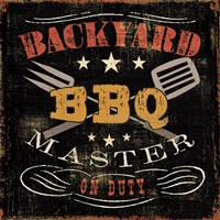 Backyard BBQ by Pela Studio - various sizes, FulcrumGallery.com brand