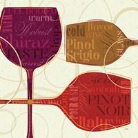 Colorful Wine II by Pela Studio - various sizes