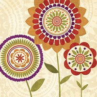 Fall Flowers II by Veronique Charron - various sizes, FulcrumGallery.com brand