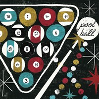 Vegas - Pool Hall Fine Art Print