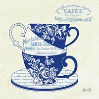 Blue Cups III Fine Art Print