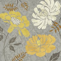 Morning Tones Gold I by Daphne Brissonnet - various sizes - $26.49