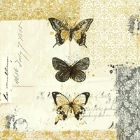 Golden Bees n Butterflies No. 2 by Katie Pertiet - various sizes