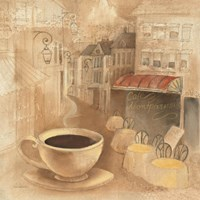 Cafe de Paris I by Albena Hristova - various sizes