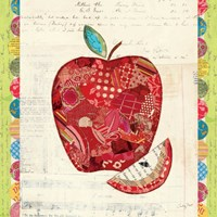 Fruit Collage I - Apple Fine Art Print