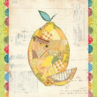 Fruit Collage II - Lemon by Courtney Prahl - various sizes