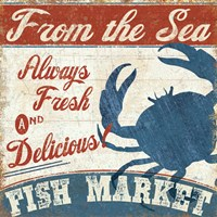 Fresh Seafood IV by Pela Studio - various sizes