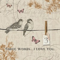 Words that Count III by Pela Studio - various sizes, FulcrumGallery.com brand