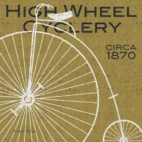 High Wheel Cyclery Fine Art Print