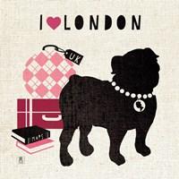 London Pooch Fine Art Print
