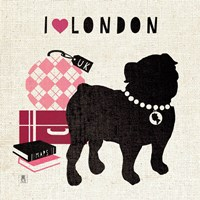 London Pooch by Mousseau - various sizes