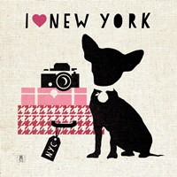 NY Pooch by Mousseau - various sizes