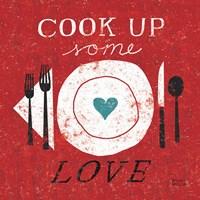 Cook Up Love Framed Print