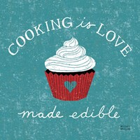 Cooking is Love Fine Art Print