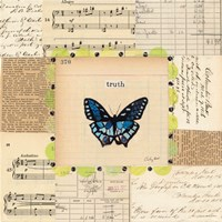 Truth Butterfly Fine Art Print