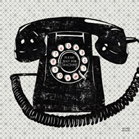 Vintage Analog Phone Fine Art Print
