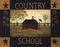 Country School Fine Art Print