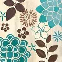 Abstract Garden Blue II by Veronique Charron - various sizes
