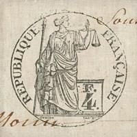 Letter Crest V Fine Art Print