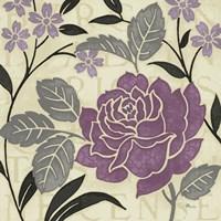 Perfect Petals II Lavender Fine Art Print