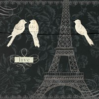 Love Paris I Fine Art Print