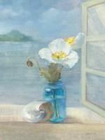 Coastal Floral II Fine Art Print