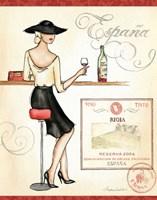 Wine Event I Framed Print