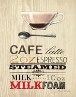 Cafe Latte Fine Art Print