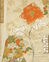 Collaged Botanicals I Fine Art Print