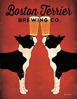 Boston Terrier Brewing Co. Fine Art Print
