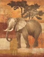 Animals on Safari IV Fine Art Print